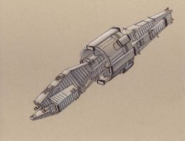 Xiphon: Fast Frigate by Jepray