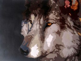 Lakota - Painting by ForeverCanine