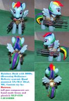Rainbow Dash in BODs(Browning Ordinance delivery) by batosan