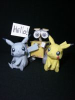 My first papercrafts by fezco