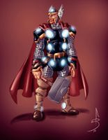 Another Quick Thor by fdiskart