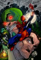 Spiderman colors by sludger