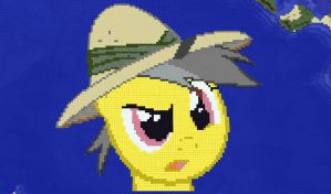Daring Do - Minecraft Pixel Art by Captain-Ashon