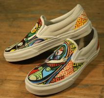 Girl Before a Mirror Vans 2 by PattersonArt