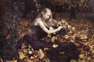 Autumnal elf II by Cambion-Art