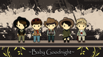 B1A4: Baby Goodnight Chibi Wallpaper by Paaat19