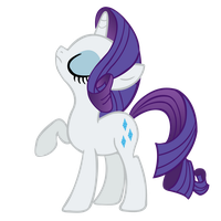 Rarity Vector by 30ColoredOwl
