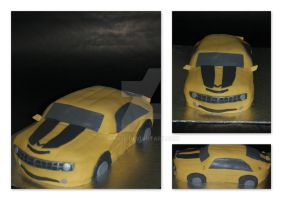 3D car cake by JanJL