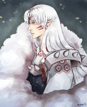 Lord Sesshomaru by Moonania