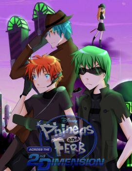 Phineas and Ferb Anime: ASTD by IntoTheFrisson