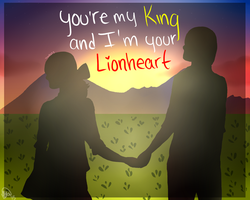 ||King and Lionheart|| by Tinbutt