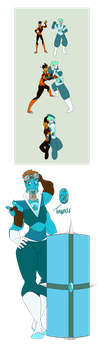 SU Fusion: Turquoise by Kitty-Kaye
