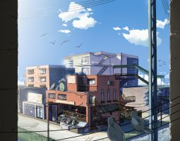Small Town BG by deeJuusan