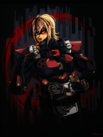 Hard Corps: Uprising -Red Moon Rising- by lightning-seal
