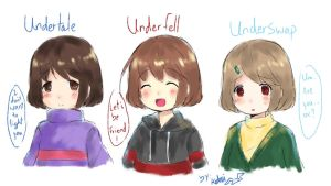 Frisk any version (sketch) by Choulaphone