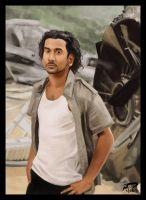 Sayid from Lost - Speedpaint by Majoh