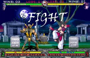 MK vs SF - Scorpion vs Juri by 2321351scorpion