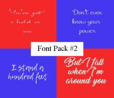 Font Pack #2 by xoxosimplicity