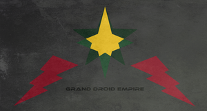 Droid empire flag gift by EmperorMyric