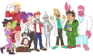 Cast from the Future by Violeta960