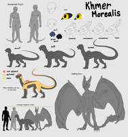 Khmer Morealis: KM Species Sheet by Falkzii