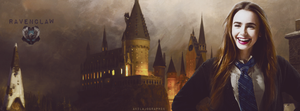 Lily Collins Ravenclaw by AkilajoGraphic