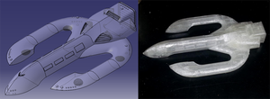 Loki-class DropShip, modeled and... modeled by TheCentipede