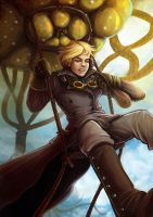 Leviathan: Riding the airbeast by ns-wen