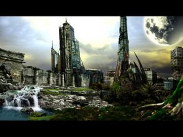 Perth in ruins by saChicals