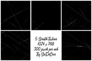 Scratch Texture Pack 1 by secdoover-resources
