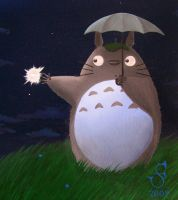 Totoro by KainMorgenmeer