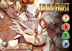 Emma Frost Character by overpower-3rd
