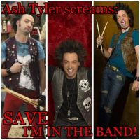 SAVE IM IN THE BAND - Ash by Eponinepetrelli