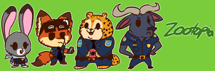 Zootopia Banner by Cookie-and-her-foxes