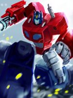 optimus by Zaidizainal