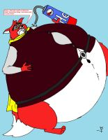 Rotund Redwall - Skalrag by MercurytheWereWulff