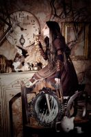 Clock and Alice by Isilmarille