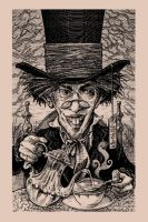 The Mad Hatter by thebiscuitboy