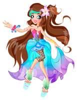 Ever After High Calipso DelaSong by CostantStyle