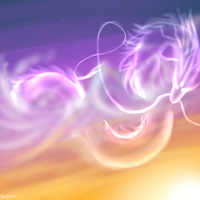 SoC:Sunset Dragon Speed Paint by RenZie99