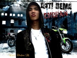 Photoshop estilo Rap Anti dema by EnriqueNg