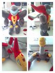 Swoop transformers plush by LRK-Creations