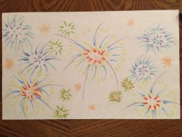 Happy 4th of July~Fireworks by VISIONARYGirl