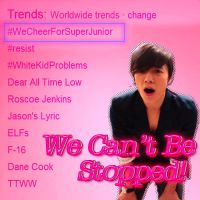 ELF's, SuJU Can't Be Stopped by NileyJoyrus14