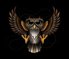 Owl Design by Tribalchick101
