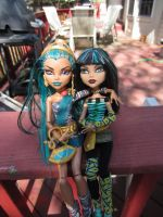 No Way Sister: Cleo and Nefera Two by Childofwestwind