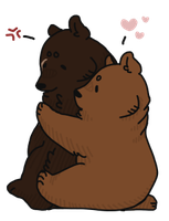 bear hugs by sruo