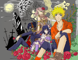 Naruto Gothic color~ by Ayuukimi