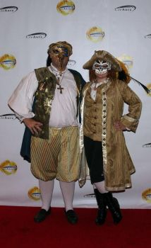 Masked Ball costumes by Picklethis