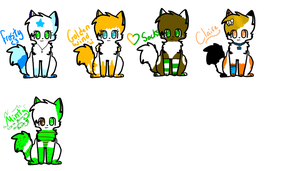 Some of my OCs 1 by MistyEm1101
